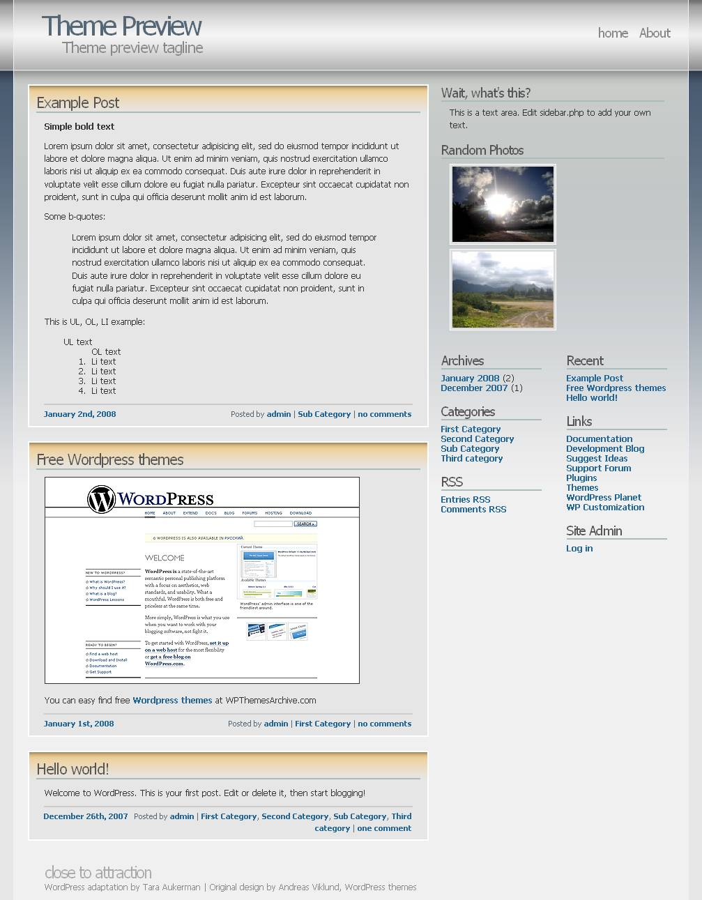 download Andreas04 theme