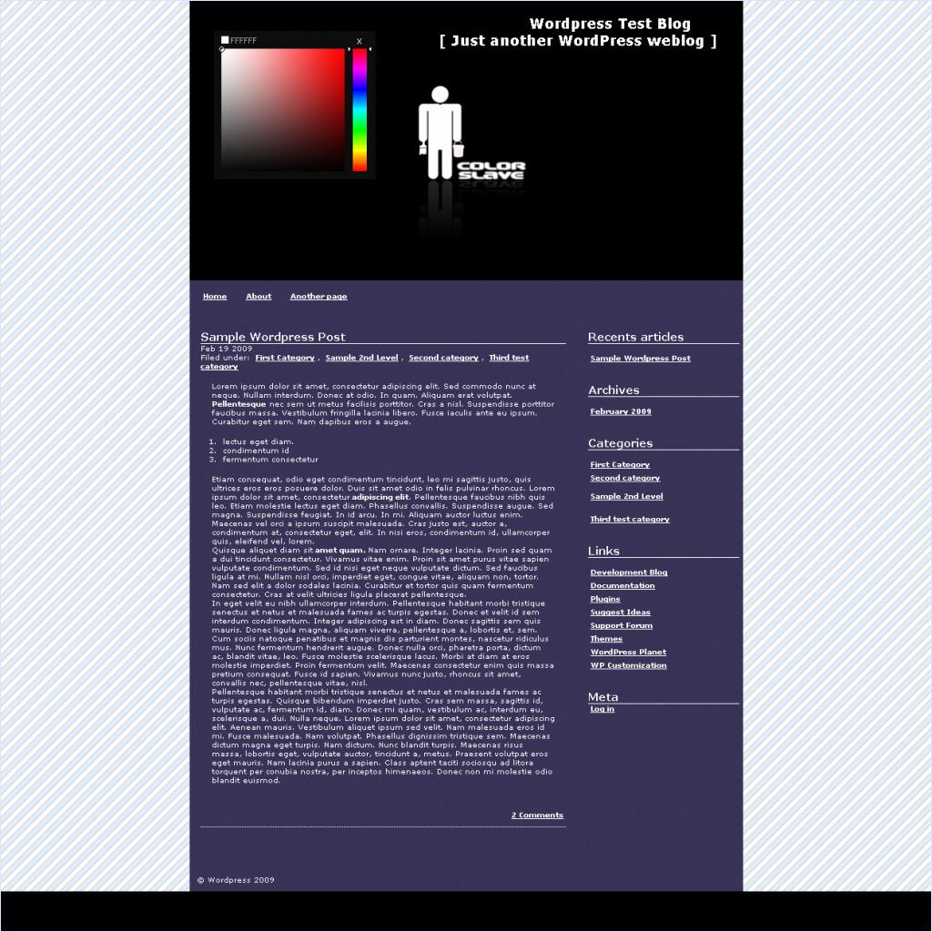 download Colorslave theme