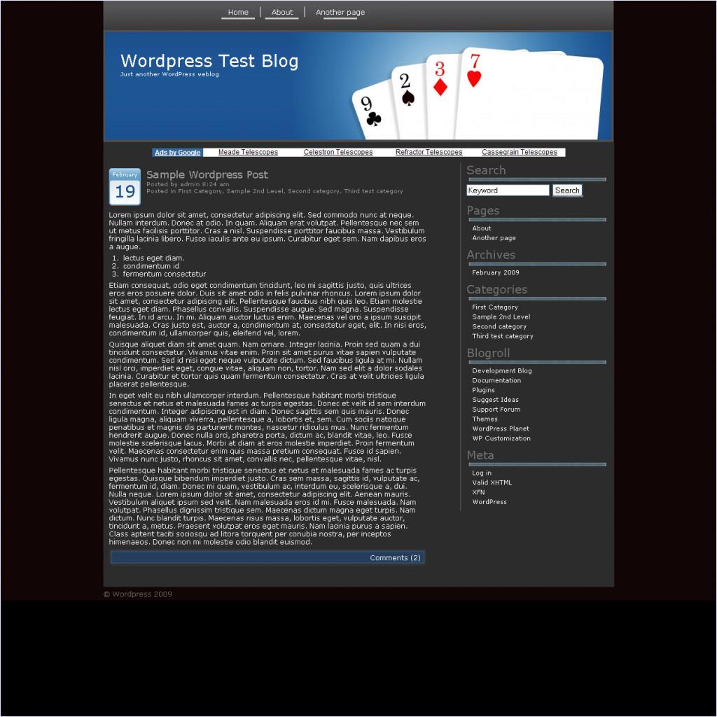 download Poker Nights theme