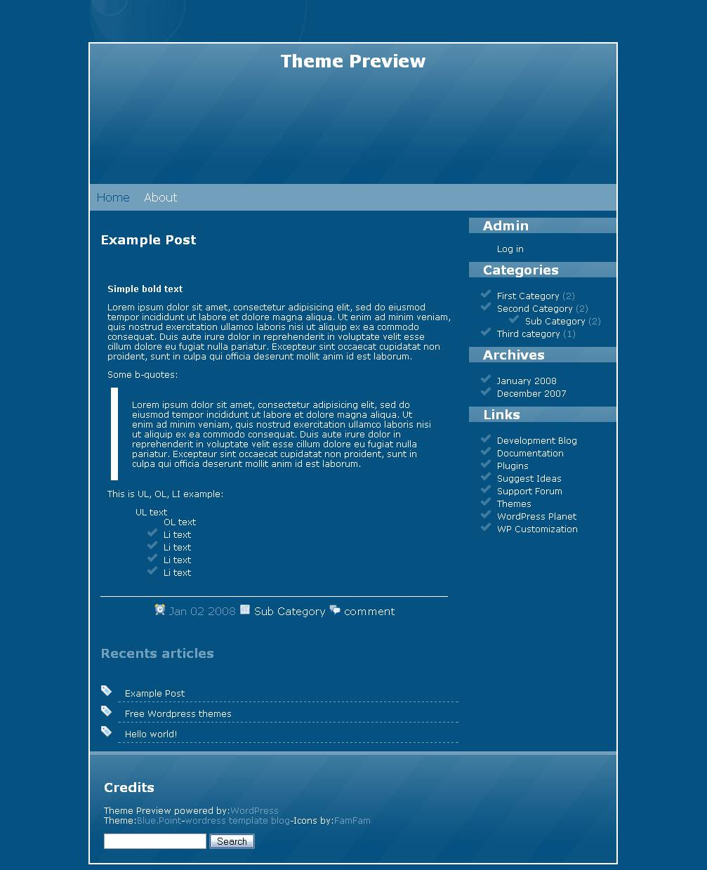 download Blue.Point theme