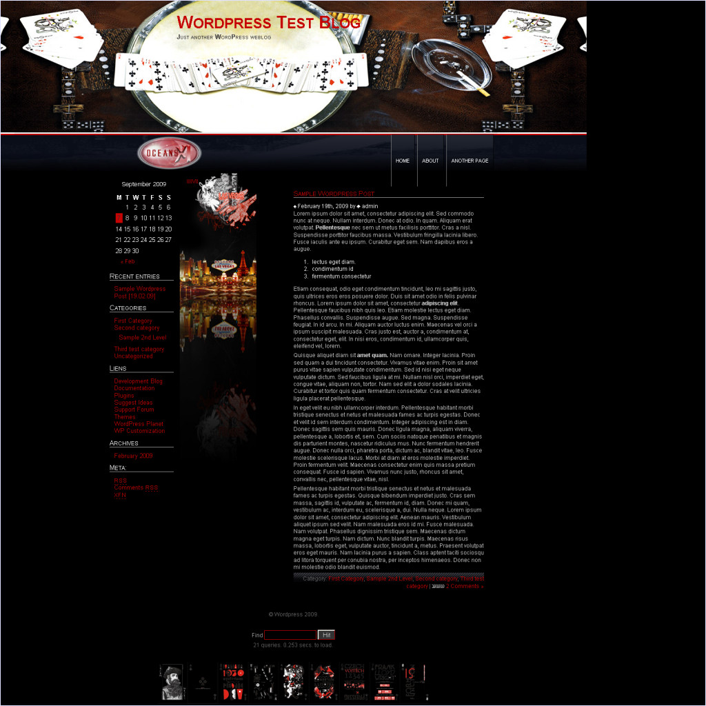 download Oceans11 theme