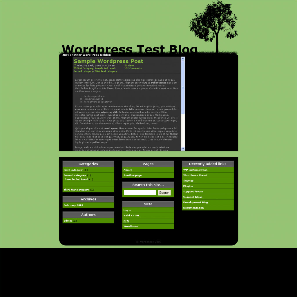 download Isolated theme