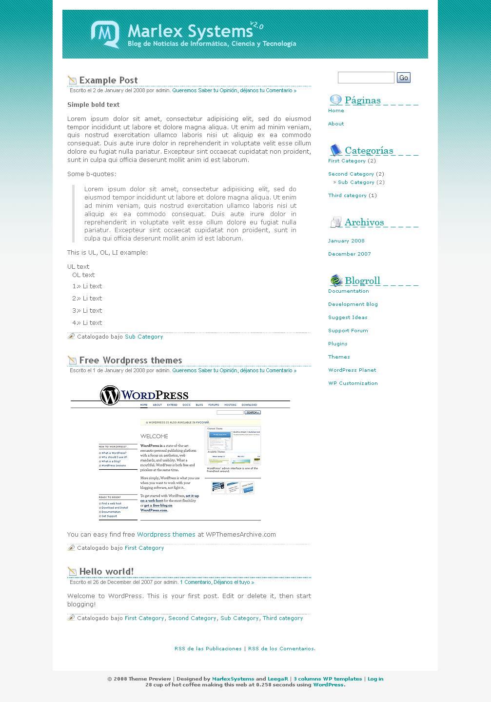download MarlexSystems theme