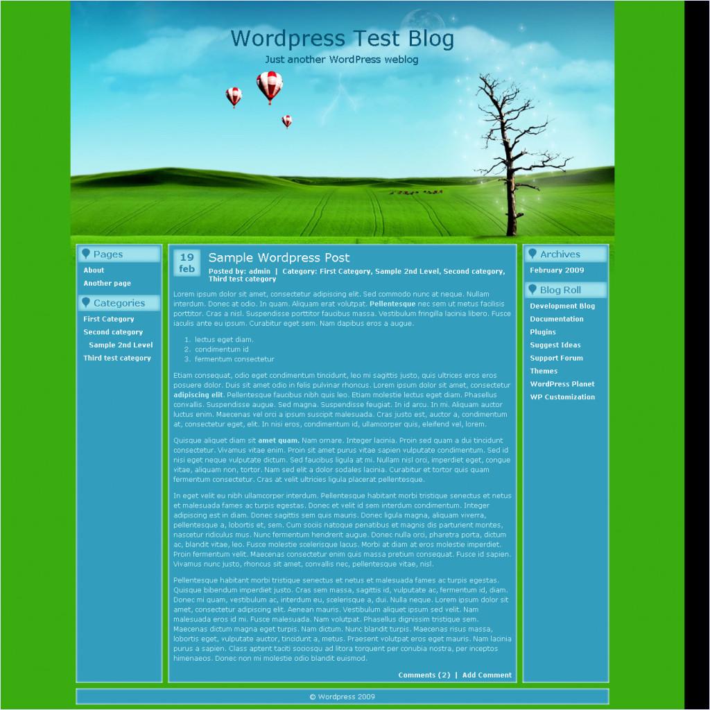 download Balloons Theme theme