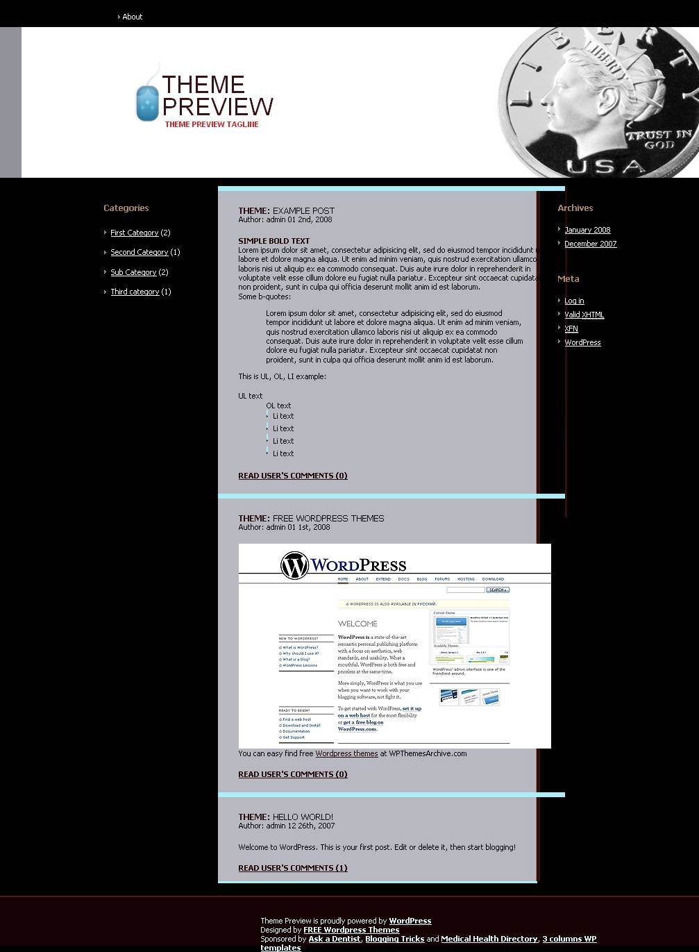 download Business theme