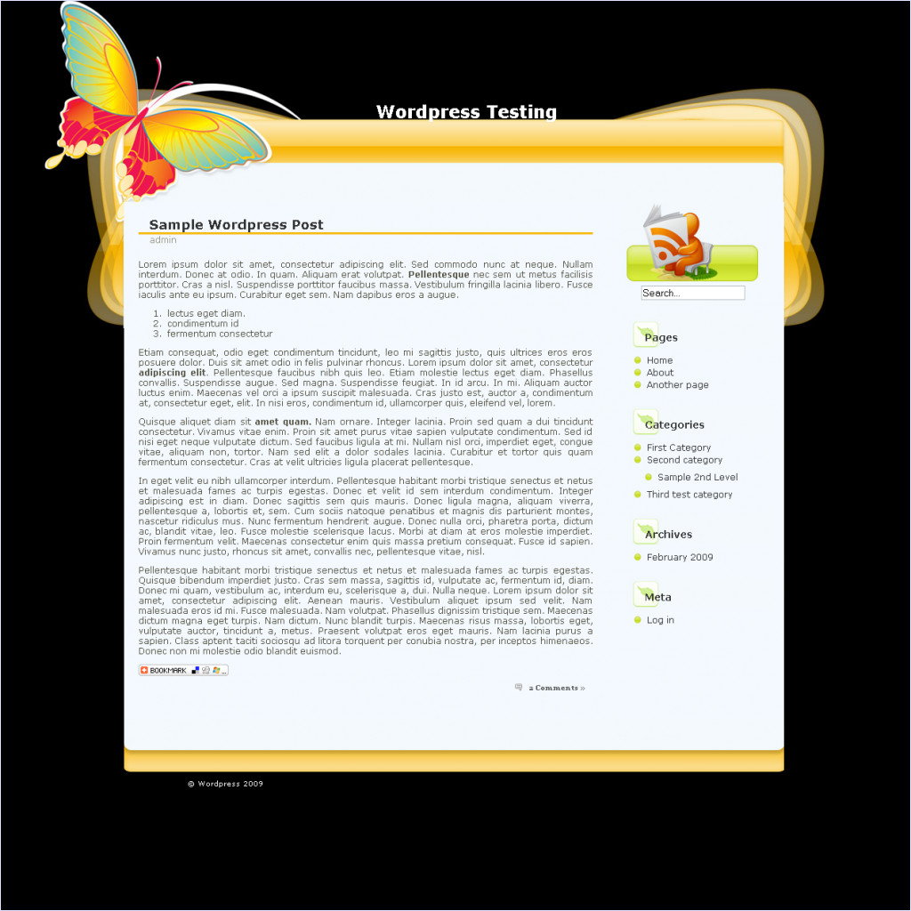 download butterflyeffects theme