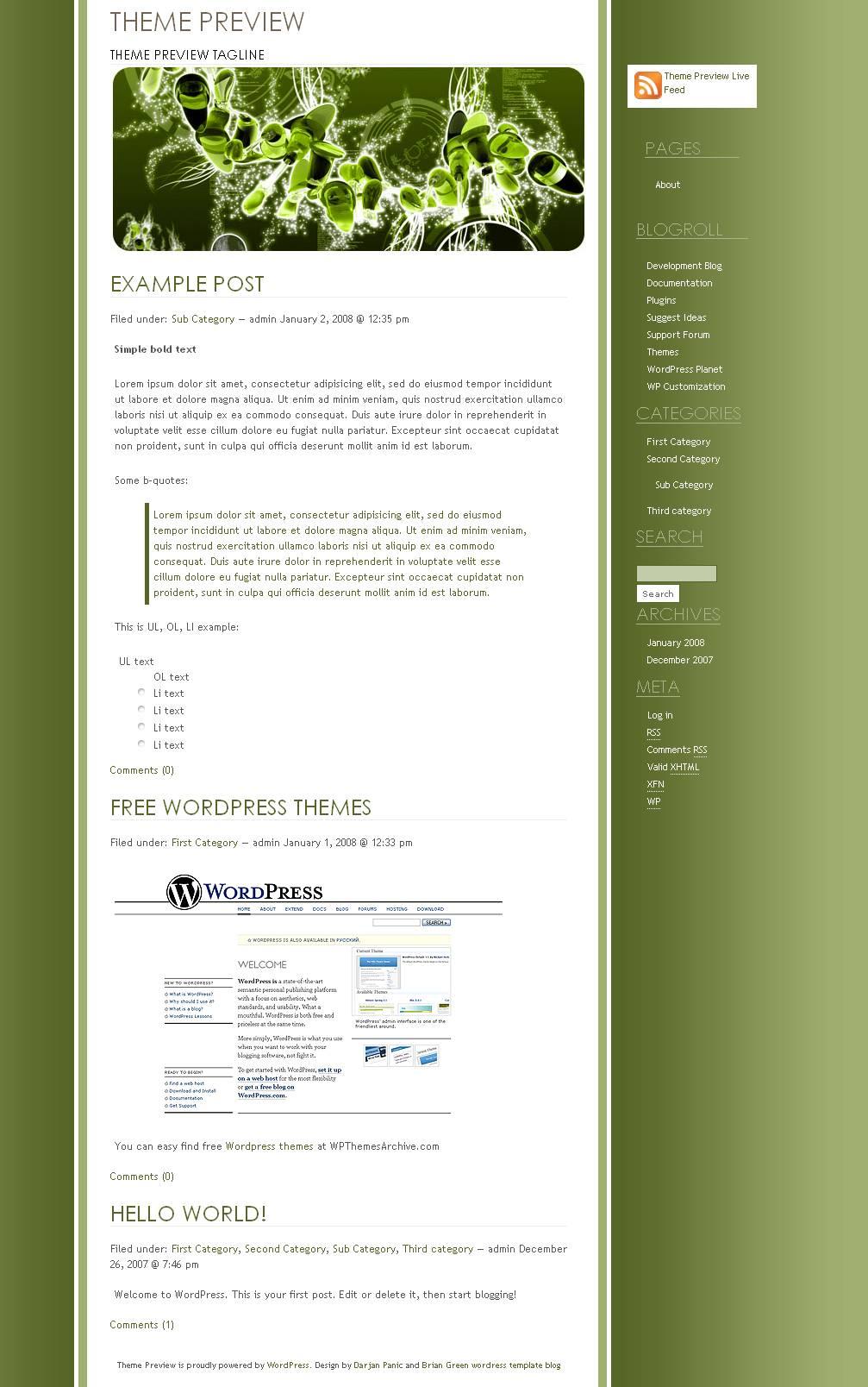 download Dipdolt Green theme