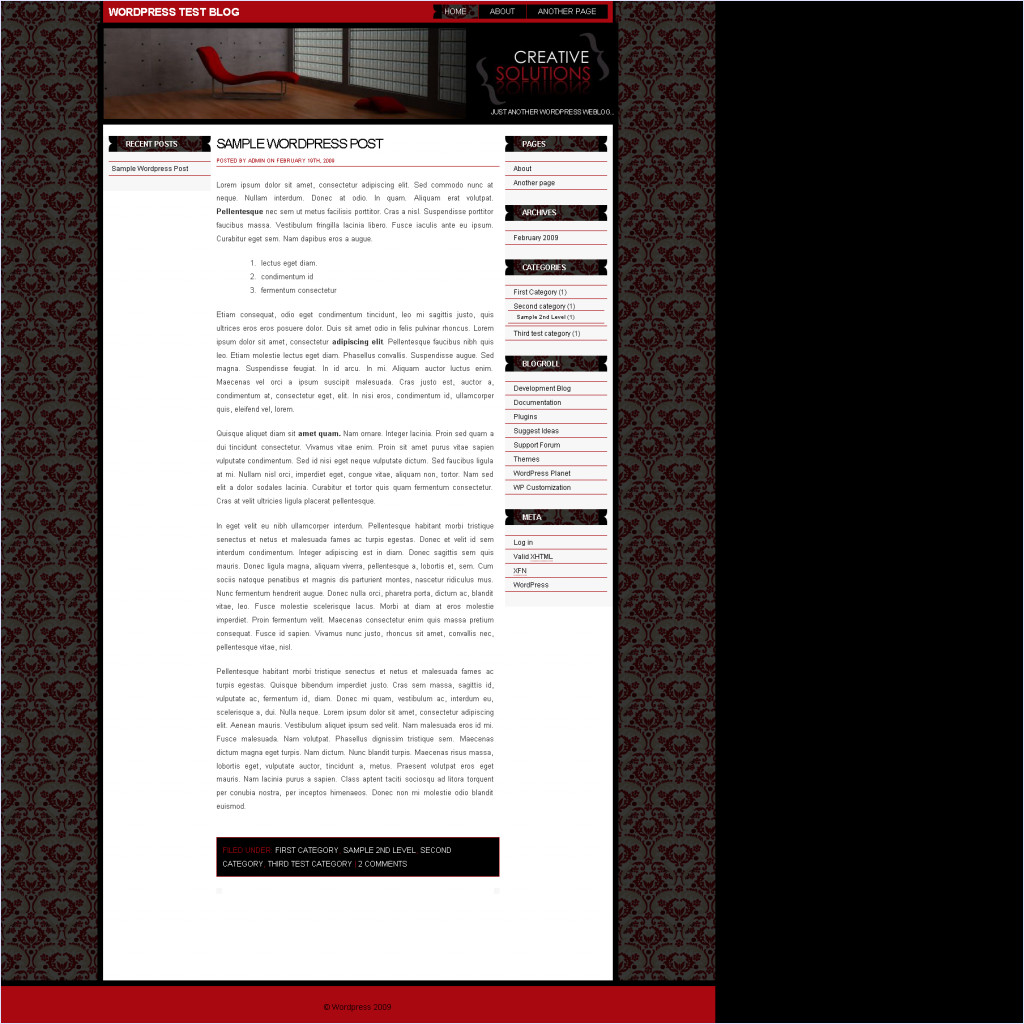 download CreativeSolutions theme