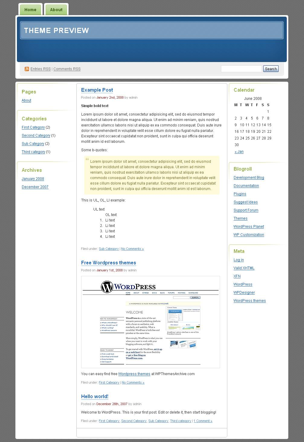 download Digg 3 Columns theme