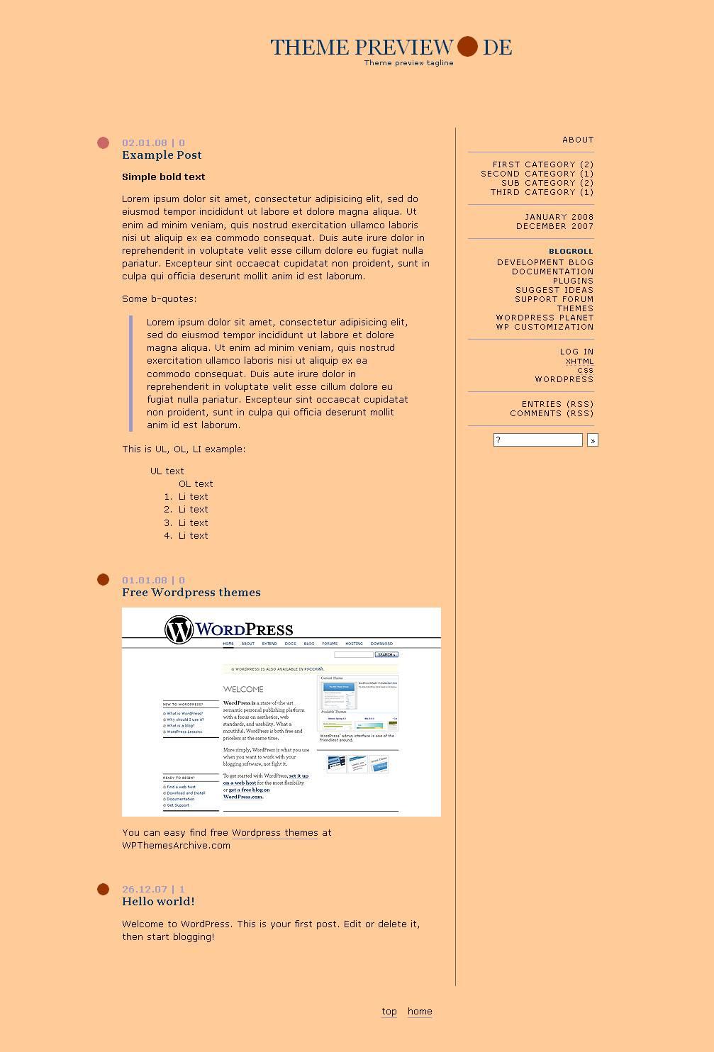 download blogtimes theme