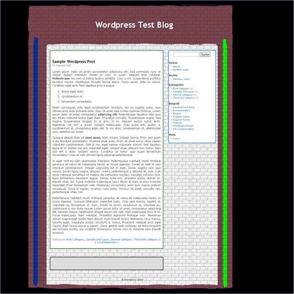 download noch ein Mauer-Theme in deutsch theme